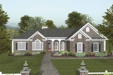 House Plan Design - Craftsman Exterior - Front Elevation Plan #56-689