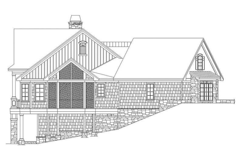 Craftsman Exterior - Other Elevation Plan #929-937 - Houseplans.com