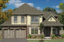 House Plan Design - Colonial Exterior - Front Elevation Plan #316-280