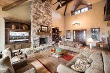 Craftsman Interior - Family Room Plan #892-16