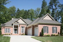 Architectural House Design - Traditional Exterior - Front Elevation Plan #453-622
