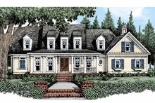Dream House Plan - Traditional Exterior - Front Elevation Plan #927-482