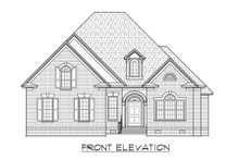 Traditional Exterior - Front Elevation Plan #1054-77