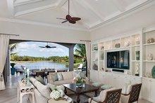House Plan Design - Mediterranean Interior - Family Room Plan #1017-166