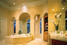 Mediterranean Interior - Master Bathroom Plan #930-320