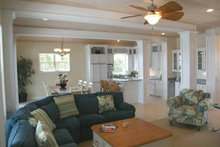 Country Interior - Family Room Plan #928-177