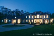 European Style House Plan - 5 Beds 4.5 Baths 5158 Sq/Ft Plan #929-479 Exterior - Front Elevation