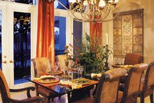 Home Plan - Mediterranean Interior - Dining Room Plan #930-316