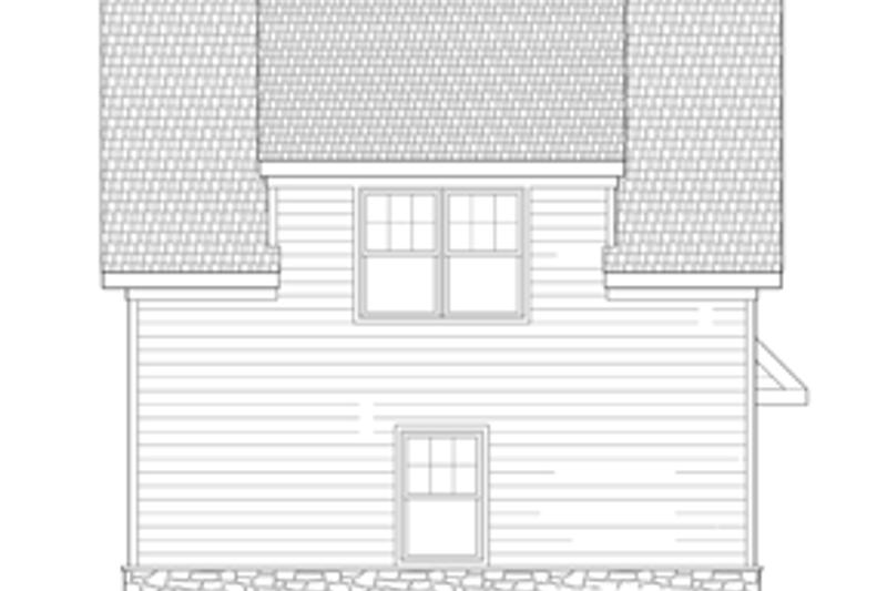 Craftsman Exterior - Other Elevation Plan #1029-66 - Houseplans.com