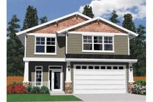 Architectural House Design - Traditional Exterior - Front Elevation Plan #509-187