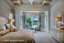 Mediterranean Interior - Master Bedroom Plan #930-449