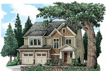 Dream House Plan - Traditional Exterior - Front Elevation Plan #927-936