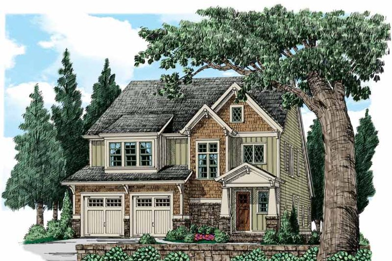 Traditional Exterior - Front Elevation Plan #927-936 - Houseplans.com