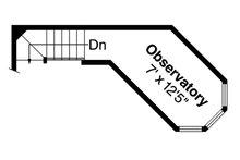Country Floor Plan - Upper Floor Plan Plan #124-438