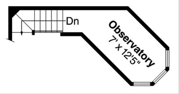 Home Plan - Country Floor Plan - Upper Floor Plan #124-438
