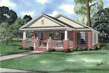 Country Exterior - Front Elevation Plan #17-2812