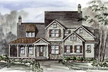 House Plan Design - Victorian Exterior - Front Elevation Plan #54-266