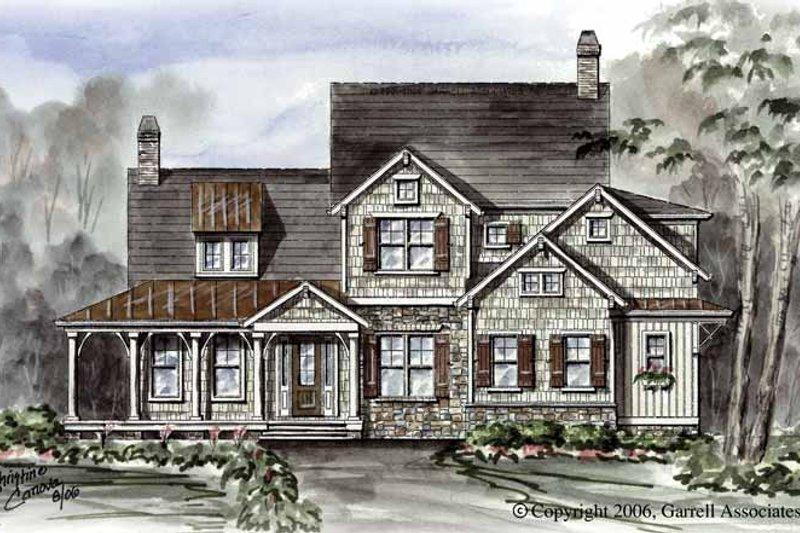 Dream House Plan - Victorian Exterior - Front Elevation Plan #54-266