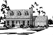 Country Style House Plan - 3 Beds 2.5 Baths 1811 Sq/Ft Plan #36-161 Exterior - Front Elevation