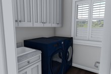 Ranch Interior - Laundry Plan #1060-39