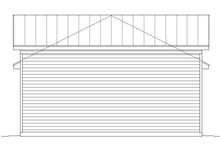 Country Exterior - Other Elevation Plan #932-141