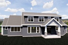 Craftsman Exterior - Rear Elevation Plan #920-10