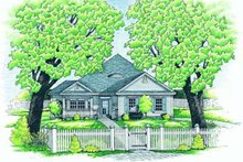 Traditional Exterior - Front Elevation Plan #20-490