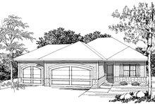 Dream House Plan - Ranch Photo Plan #70-1020