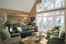 Country Interior - Family Room Plan #929-494