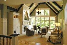 European Interior - Family Room Plan #928-42