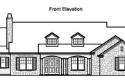 Traditional Style House Plan - 4 Beds 3.5 Baths 3481 Sq/Ft Plan #490-20 Exterior - Other Elevation