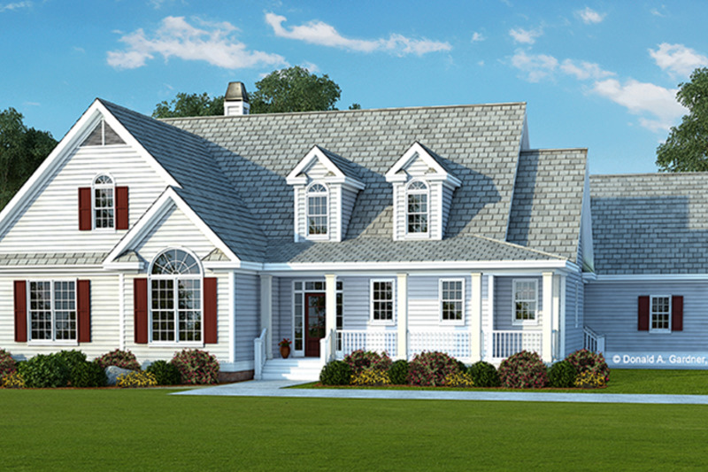 Country Exterior - Front Elevation Plan #929-976 - Houseplans.com
