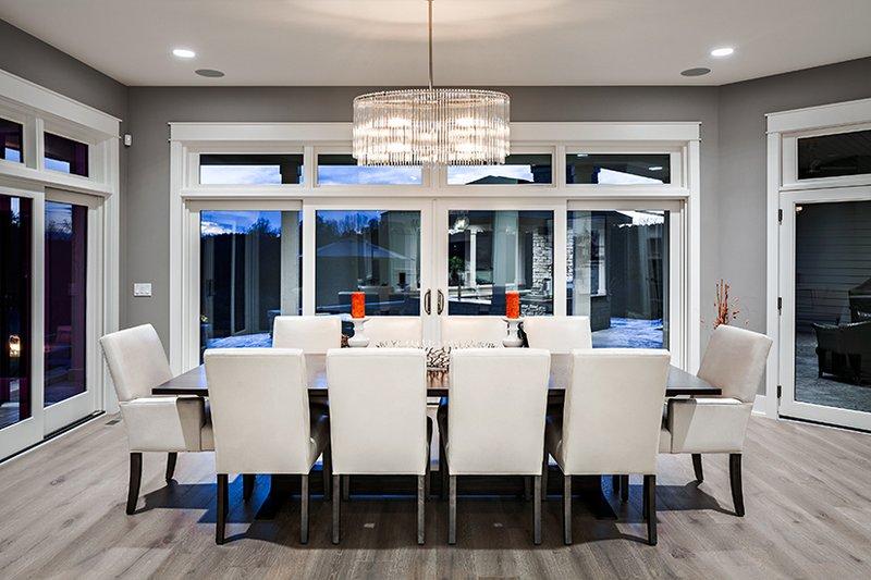 Contemporary Interior - Dining Room Plan #928-287 - Houseplans.com