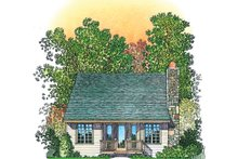 Country Exterior - Rear Elevation Plan #1016-110