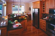 Country Style House Plan - 3 Beds 2 Baths 1724 Sq/Ft Plan #929-577 Interior - Kitchen