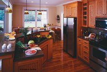 Dream House Plan - Country Interior - Kitchen Plan #929-577