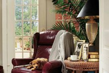 Classical Interior - Family Room Plan #37-235
