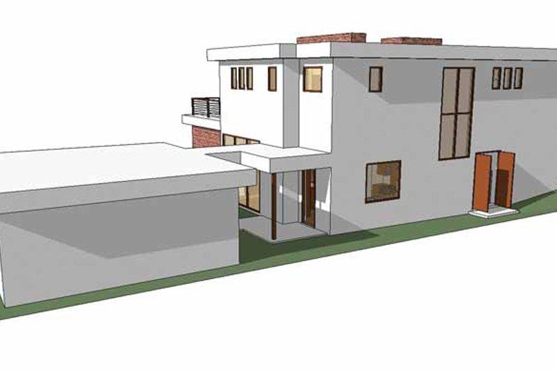 Contemporary Exterior - Rear Elevation Plan #64-285 - Houseplans.com