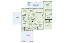 European Floor Plan - Main Floor Plan Plan #17-3387