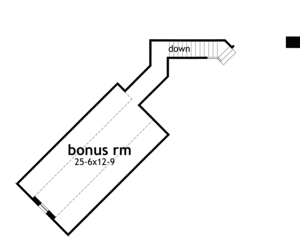 Country Floor Plan - Other Floor Plan Plan #120-243