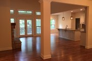 Ranch Style House Plan - 3 Beds 2 Baths 1683 Sq/Ft Plan #437-79 Interior - Family Room