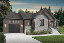 Dream House Plan - Country Exterior - Front Elevation Plan #23-2721