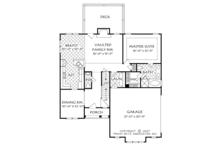 Cottage Floor Plan - Main Floor Plan Plan #927-972
