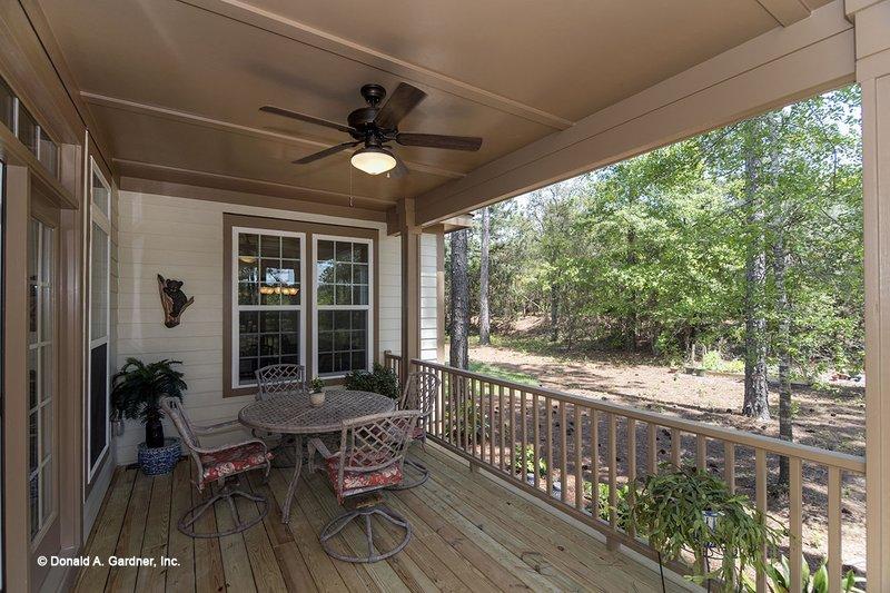 Country Exterior - Outdoor Living Plan #929-704 - Houseplans.com