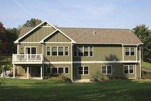 House Plan Design - Craftsman Exterior - Rear Elevation Plan #928-129