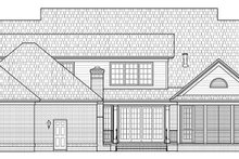 House Plan Design - Traditional Exterior - Rear Elevation Plan #1054-20