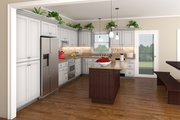 Country Style House Plan - 3 Beds 3 Baths 1800 Sq/Ft Plan #21-151 Interior - Kitchen