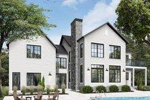House Plan Design - Farmhouse Exterior - Rear Elevation Plan #23-2688