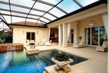 Dream House Plan - Mediterranean Exterior - Rear Elevation Plan #930-443