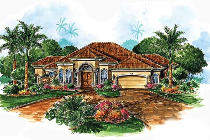Dream House Plan - Contemporary Exterior - Front Elevation Plan #1017-20